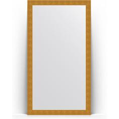 Зеркало напольное поворотное Evoform Definite Floor 111x201 см, в багетной раме - чеканка золотая 90 мм (BY 6020)