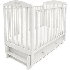 Кроватка Sweet Baby Eligio Bianco Белый 385674
