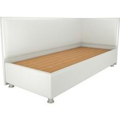 Кровать OrthoSleep Бибионе Лайт жесткое основание белый 160х200