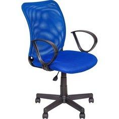 Кресло Алвест AV 219 PL (Р) TW сетка/сетка односл 452/471 синяя/синяя