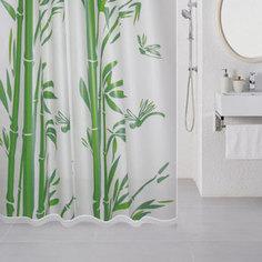 Штора для ванной Milardo Bamboo 180x180 см (510V180M11)