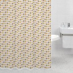 Штора для ванной Milardo Classic Tiles 180x200 см (700P180M11)