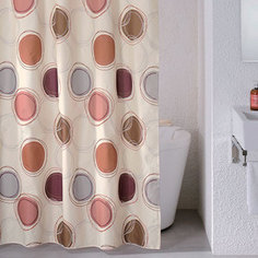 Штора для ванной Milardo Sea Stones 180x200 см (690P180M11)