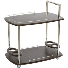 Стол сервировочный Калифорния мебель Банкет Венге