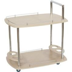 Стол сервировочный Калифорния мебель Банкет Дуб