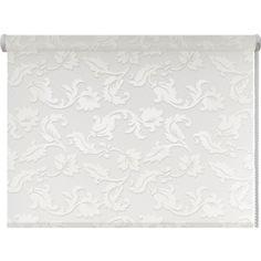 Рулонная штора DDA Жасмин (принт) Белый 140x170 см