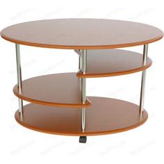 Стол журнальный Калифорния мебель Эллипс СЖ-01 вишня