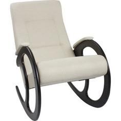 Кресло-качалка Мебель Импэкс МИ Модель 3 венге, обивка Malta 01 А
