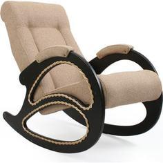 Кресло-качалка Мебель Импэкс МИ Модель 4 венге, обивка Malta 03 А
