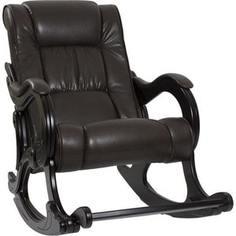 Кресло-качалка Мебель Импэкс МИ Модель 77 венге, обивка Vegas lite amber