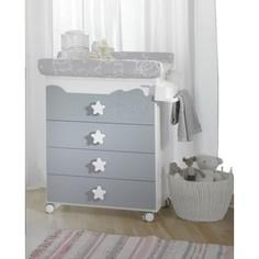 Комод Micuna Dolce Luce пеленальный B-1673 white/grey