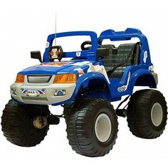 Электромобиль CHIEN TI OFF-ROADER (CT-885 4x4) синий камуфляж
