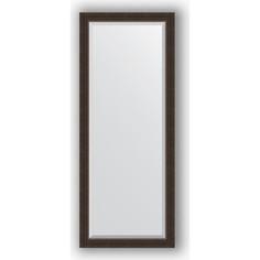Зеркало с фацетом в багетной раме поворотное Evoform Exclusive 61x151 см, палисандр 62 мм (BY 1184)