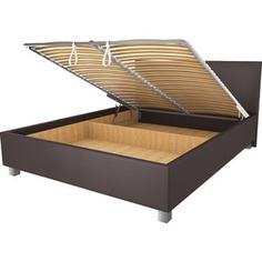 Кровать OrthoSleep Ниагара шоколад механизм и ящик 140х200