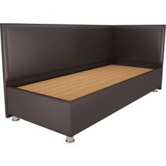Кровать OrthoSleep Бибионе Лайт жесткое основание Сонтекс Умбер 200х200