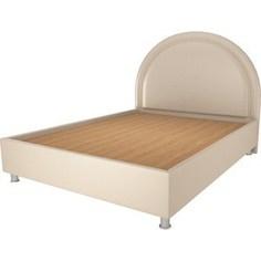 Кровать OrthoSleep Аляска бисквит жесткое основание 140х200