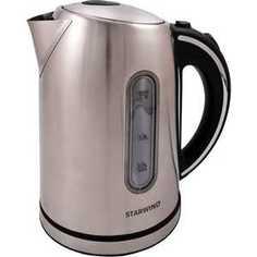 Чайник электрический StarWind SKS4210 серебристый матовый