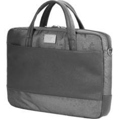 Сумка для ноутбука Continent CC-037 Grey (полиэстр/экокожа до 15.6)