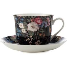 Чашка с блюдцем Maxwell & Williams Полночные цветы большая (MW637-WK01300)