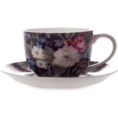 Чашка с блюдцем Maxwell & Williams Полночные цветы (MW637-WK01250)