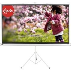 Экран для проектора Sakura 158x158 TriScreen 1:1 напольный 88