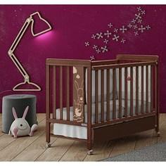 Кроватка Micuna Kangaroo 120х60 chocolate с матрацем CH-620 Э0000016418