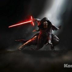 Фотообои Star Wars STAR WARS Kylo Ren (3,68х2,54 м)