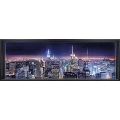 Фотообои Komar Sparkling New York (3,68х1,27 м) (4-877)