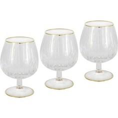 Набор бокалов для коньяка Same Пиза золото (SM2104_GAL)
