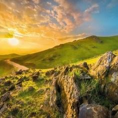 Фотообои Komar Mountain Morning 368 х 254см. (8-525)