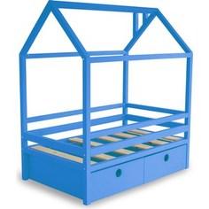 Кровать Anderson Дрима BOX голубая 90x190