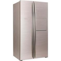 Холодильник Hiberg RFS-580D NFGY (с ручкой)