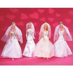 Кукла Simba Steffi Love Штеффи в свадебном наряде, 4 вида 5733414