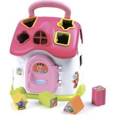 Развивающая игрушка Smoby домик сортер со светом и звуком (110401)