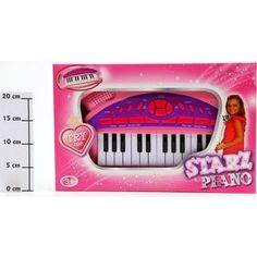 Музыкальный инструмент Potex на батар Синтезатор Starz Piano 25 клав арт 652B-pink