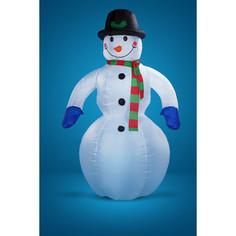Snowmen надувной снеговик с вентилятором и светом. 2. 5м (Е40174)
