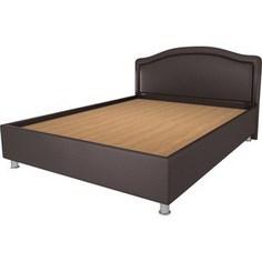 Кровать OrthoSleep Арно lite жесткое основание Сонтекс Умбер 200х200