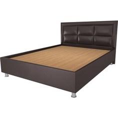 Кровать OrthoSleep Сполето lite жесткое основание Сонтекс Умбер 200х200