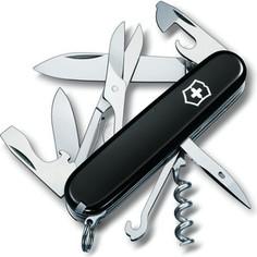 Нож перочинный Victorinox Climber 1.3703.3 (91мм 18 функций, черный)