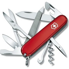 Нож перочинный Victorinox Mountaineer 1.3743 (91мм 18 функций, красный)