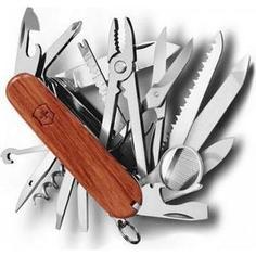 Нож перочинный Victorinox SwissChamp 1.6794.69 (91мм, 29 функций, твердая древесина)
