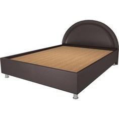 Кровать OrthoSleep Градо lite жесткое основание Сонтекс Умбер 160х200