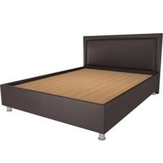 Кровать OrthoSleep Кьянти lite жесткое основание Сонтекс Умбер 120х200