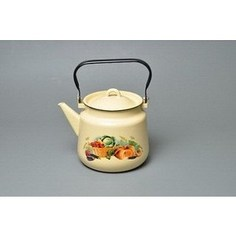 Чайник эмалированный 3.5 л СтальЭмаль Урожай (1с26с)