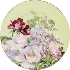 Тарелка десертная Anna Lafarg Stechcol Райский сад жёлтая (AL-17815F-YEL-P-ST)
