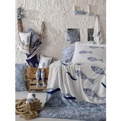 Комплект постельного белья Hobby home collection 1,5 сп, поплин, Blues, голубой (1607000134)