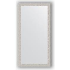 Зеркало в багетной раме поворотное Evoform Definite 51x101 см, мозаика хром 46 мм (BY 3068)