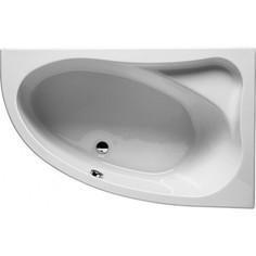 Акриловая ванна Riho Lyra 153x100 L левая, с каркасом (BA6800500000000, 2YNLU1012)