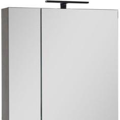 Зеркальный шкаф Aquanet Эвора 70 дуб антик (182997)