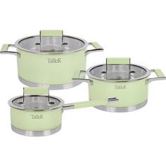 Набор посуды 6 предметов Taller Минт (TR-7170)